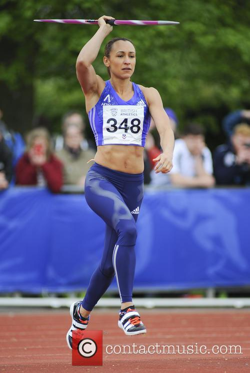 Jessica Ennis Hill at Loughborough Athletics