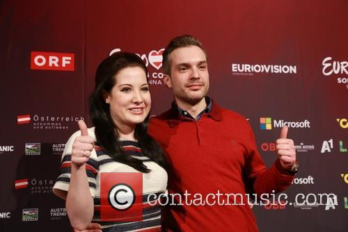 Eurovision Song Contest and Electro Velvet - Alex Larke Bianca Nichols 3