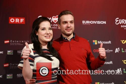 Eurovision Song Contest and Electro Velvet - Alex Larke Bianca Nichols 5