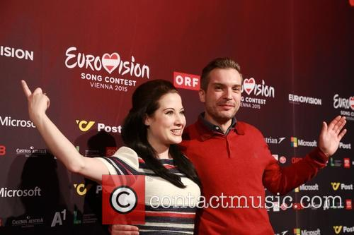Eurovision Song Contest and Electro Velvet - Alex Larke Bianca Nichols 9