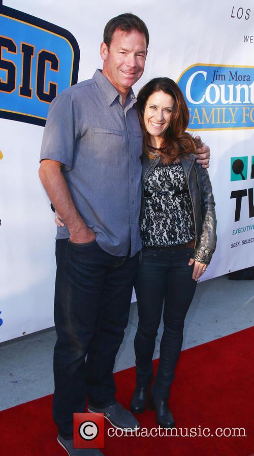 Jim Mora and Shannon Mora 1
