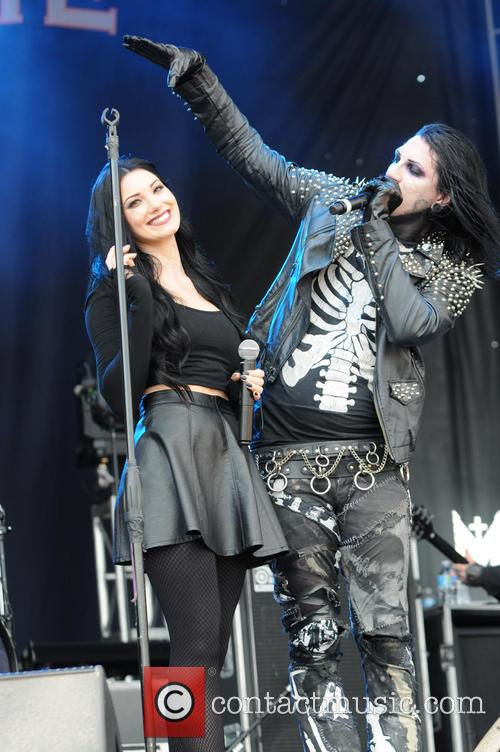 Motionless In White and Dessa Poljak 3