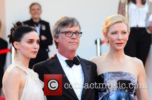 Rooney Mara, Todd Haynes and Cate Blanchett 2