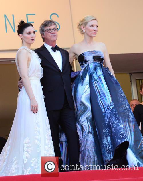 Rooney Mara, Todd Haynes and Cate Blanchett 3