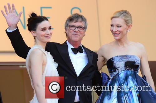 Rooney Mara, Todd Haynes and Cate Blanchett 1