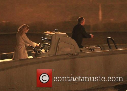 Filming for James Bond 'Spectre'