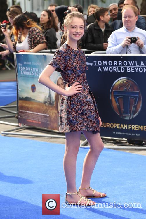 Tomorrowland UK premiere