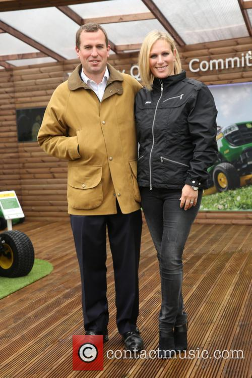 Zara Phillips and Peter Phillips