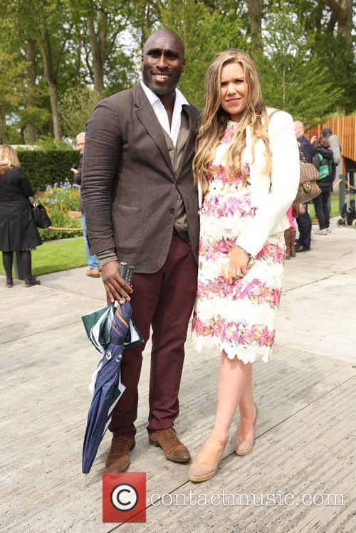 Sol Campbell and Fiona Barratt 4