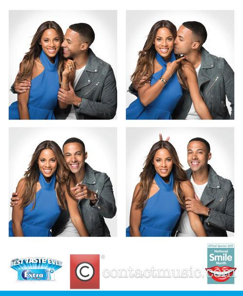 Rochelle and Marvin Humes partner with Wrigley's Extra...