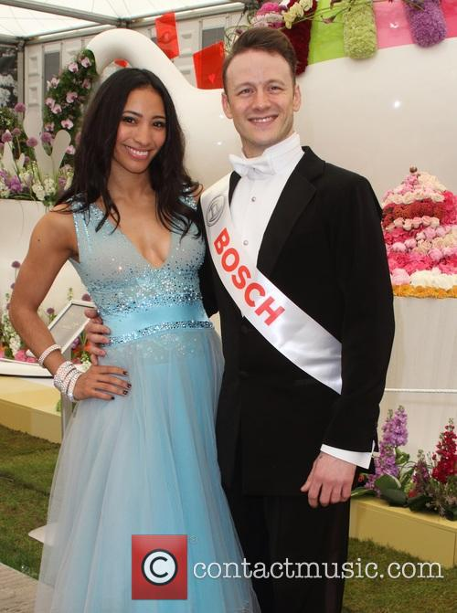Karen Hauer and Kevin Clifton 2