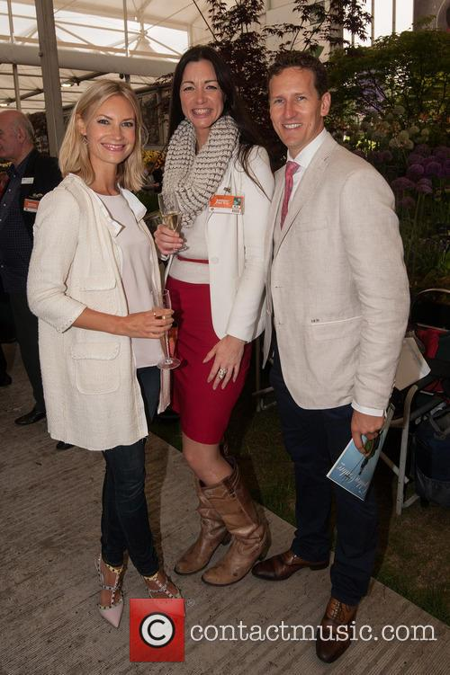 Brendan Cole, Zoe Hobbs and Guest