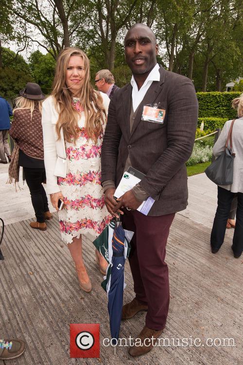 Sol Campbell and Fiona Barratt