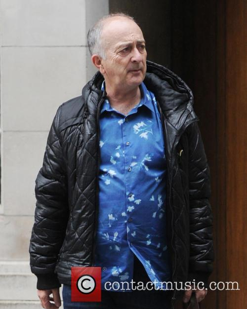 Tony Robinson out and about in London