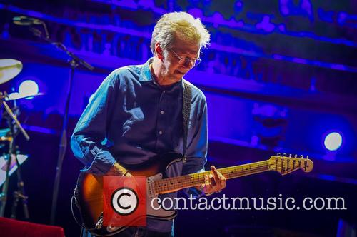 Eric Clapton performs live at the Royal Albert...
