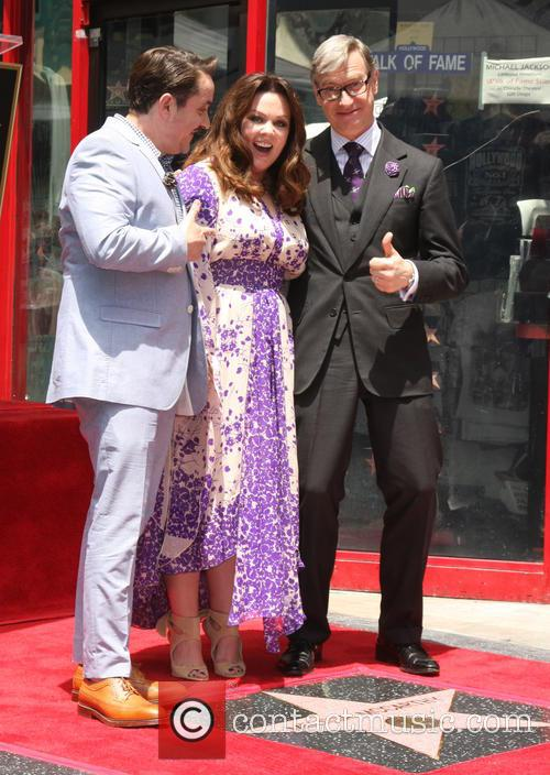 Ben Falcone, Melissa McCarthy and Peter Feig