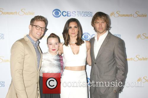 Barrett Foa, Renee Felice Smith, Daniela Ruah and Eric Christian Olsen