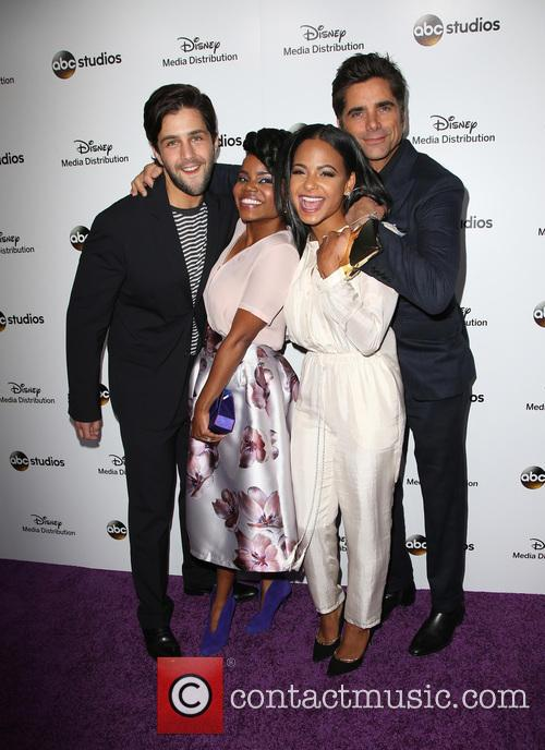 Josh Peck, Kelly Jenrette, Christina Milian and John Stamos 7