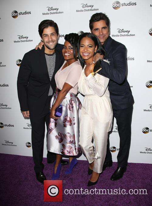 Josh Peck, Kelly Jenrette, Christina Milian and John Stamos 8