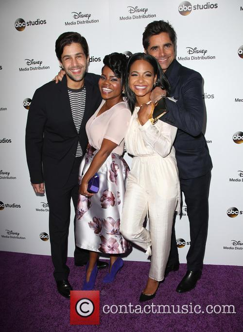 Josh Peck, Kelly Jenrette, Christina Milian and John Stamos 1