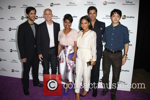 Josh Peck, Kelly Jenrette, Christina Milian, John Stamos, Daniel Chun and Chris Koch 10