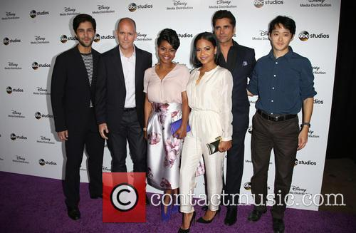 Josh Peck, Kelly Jenrette, Christina Milian, John Stamos, Daniel Chun and Chris Koch 11