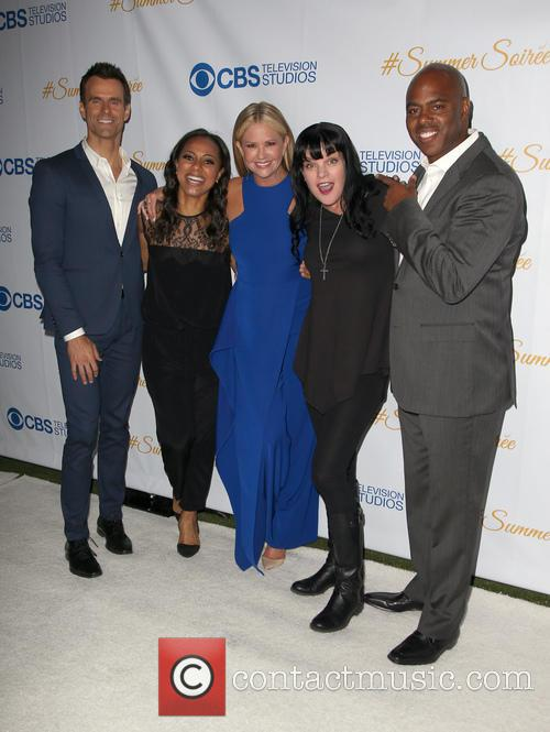 Cameron Mathison, Nischelle Turner, Nancy O'dell, Pauley Perrette and Kevin Frazer 2
