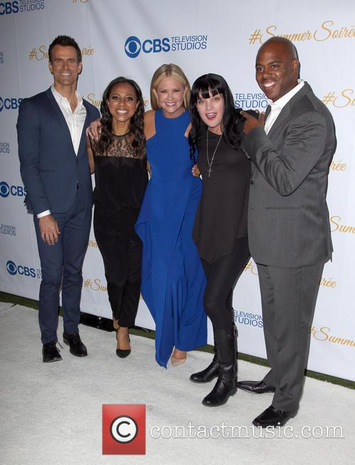 Cameron Mathison, Nischelle Turner, Nancy O'dell, Pauley Perrette and Kevin Frazer 3
