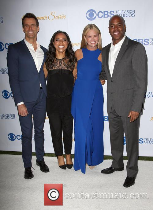 Cameron Mathison, Nischelle Turner, Nancy O'dell and Kevin Frazer 4