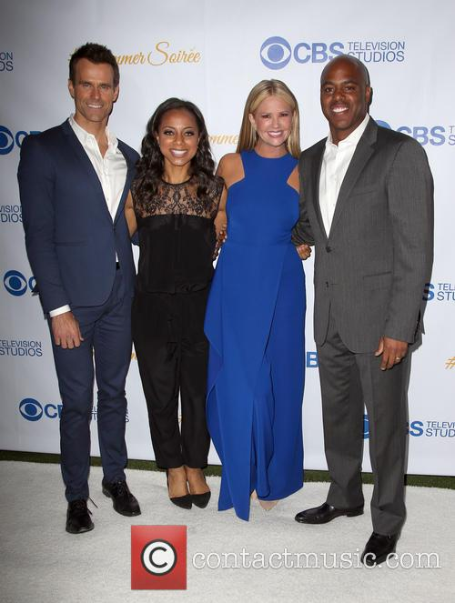 Cameron Mathison, Nischelle Turner, Nancy O'dell and Kevin Frazer 5