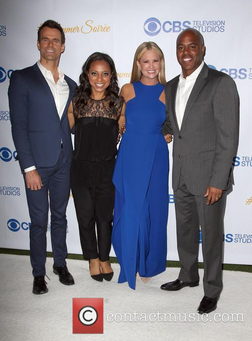 Cameron Mathison, Nischelle Turner, Nancy O'dell and Kevin Frazer 6