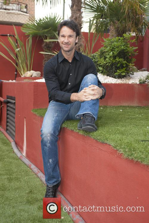 Carlos Moyá attends a photocall for Somatoline
