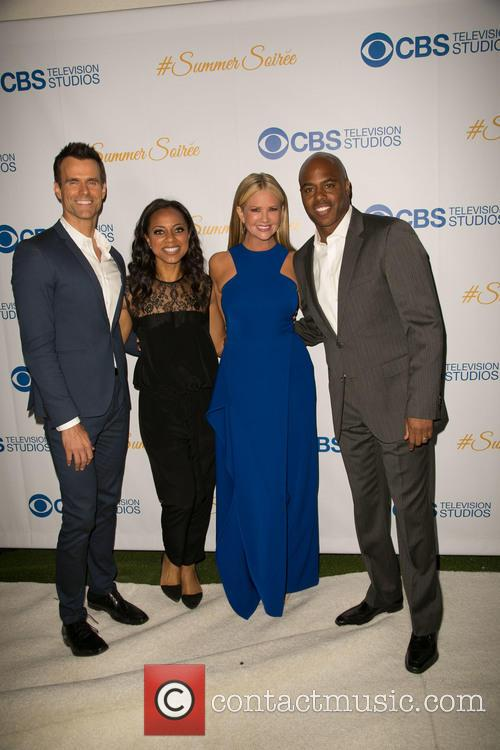 Cameron Mathison, Nischelle Turner, Nancy O'dell and Kevin Frazier 2