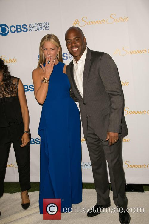 Nancy O'dell and Kevin Frazier 5