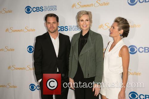 Kyle Bornheimer, Jane Lynch and Maggie Lawson 4