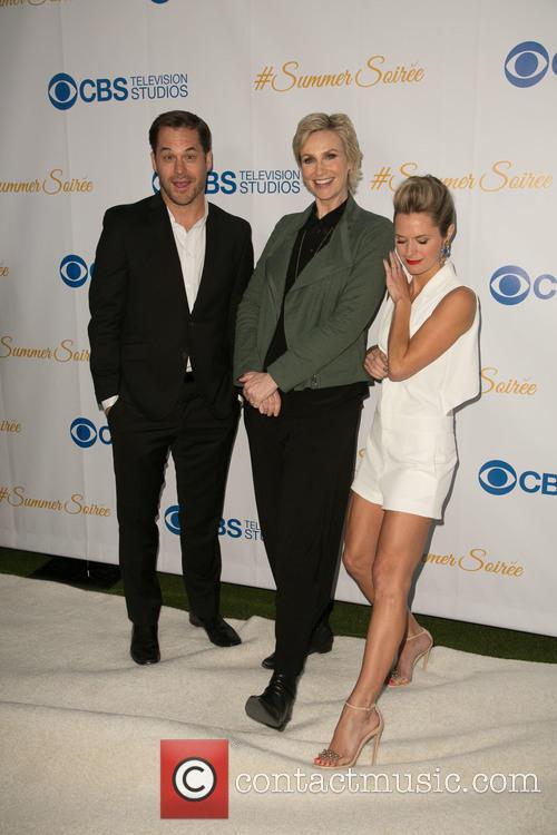 Kyle Bornheimer, Jane Lynch and Maggie Lawson 7