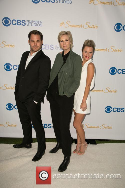 Kyle Bornheimer, Jane Lynch and Maggie Lawson 1