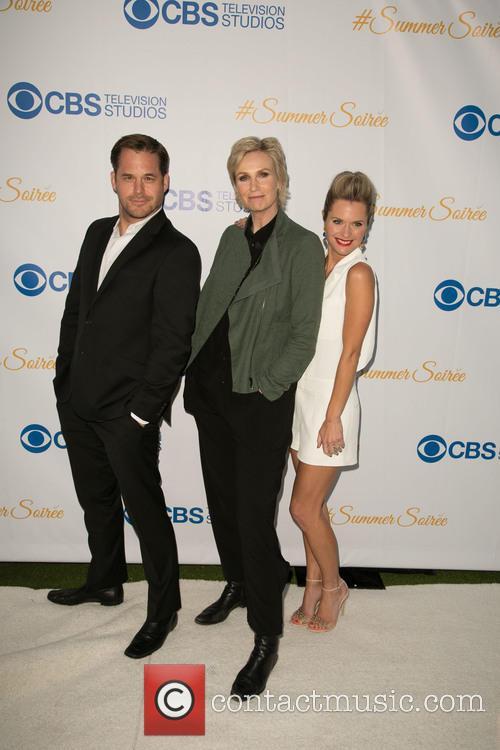 Kyle Bornheimer, Jane Lynch and Maggie Lawson 9