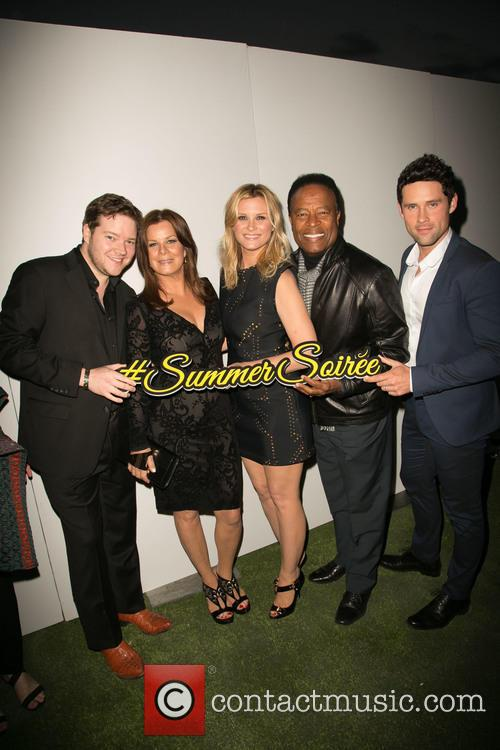 Harry Ford, Marcia Gay Harden, Bonnie Somerville, William Allen Young and Ben Hollingsworth 4