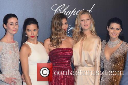 Erin O'connor, Adriana Lima and Toni Garrn 2