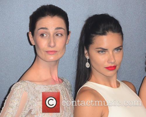 Erin O'connor and Adriana Lima 1