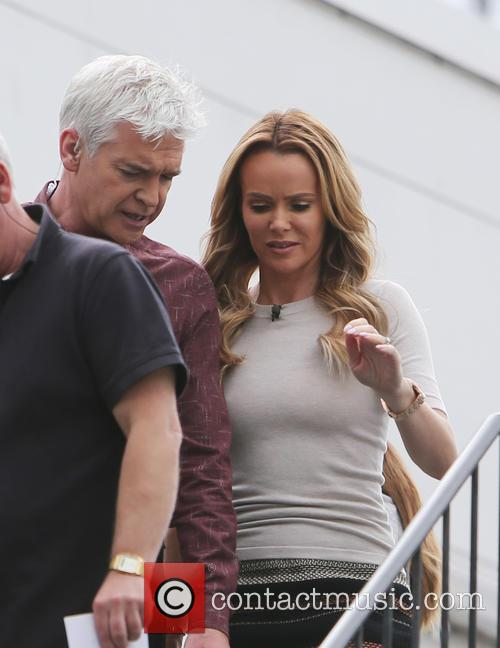 Amanda Holden and Phillip Schofield 3