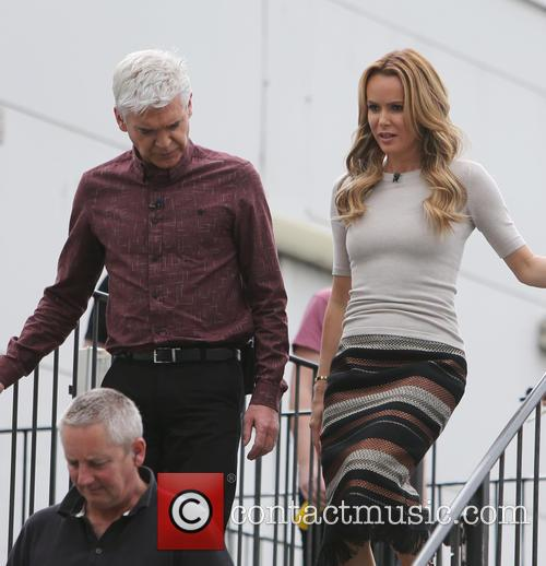 Amanda Holden and Phillip Schofield 5