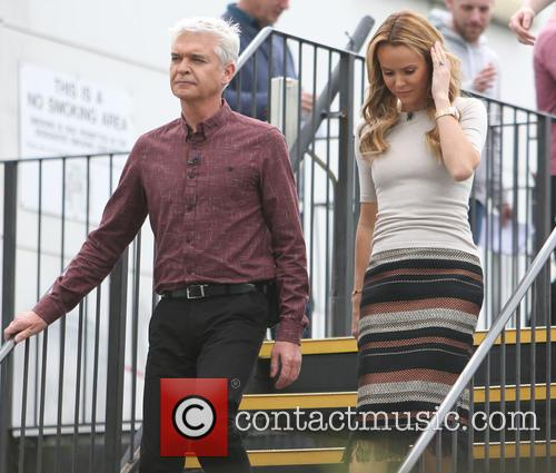 Amanda Holden and Phillip Schofield 6