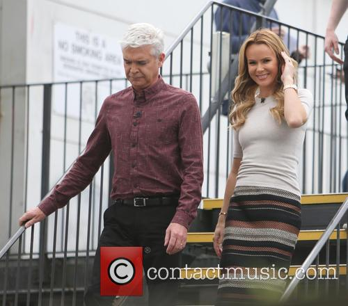Amanda Holden and Phillip Schofield 1