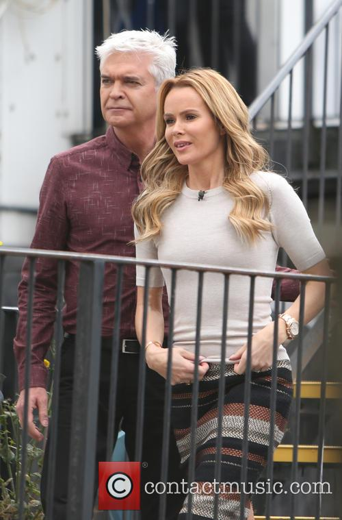 Amanda Holden and Phillip Schofield 9
