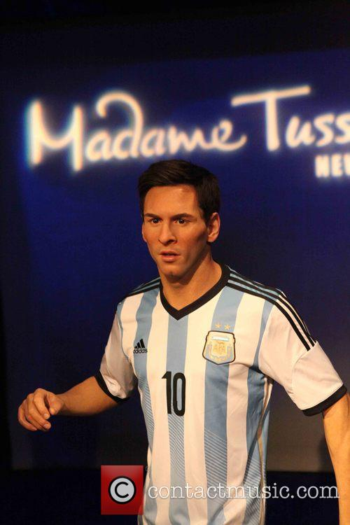 Lionel Messi's wax figure unveiling at Madame Tussauds
