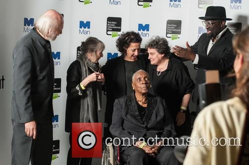 Laszlo Krasznahorkai, Fanny Howe, Hoda Barakat, Maryse Conde, Marlene Van Niekerk and Alain Mabanckou 5