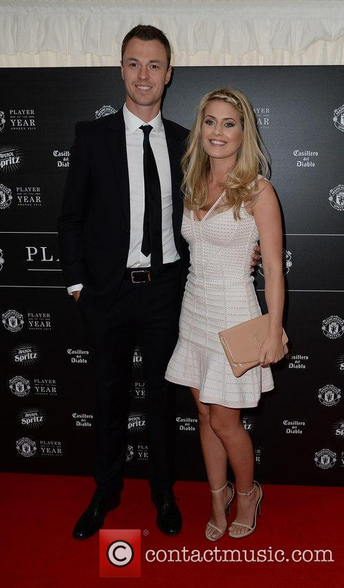 Manchester United, Johnny Evans and Helen Mcconnell 5