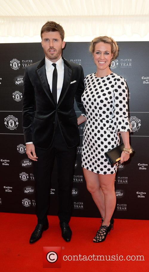 Manchester United, Michael Carrick and Lisa Carrick 8